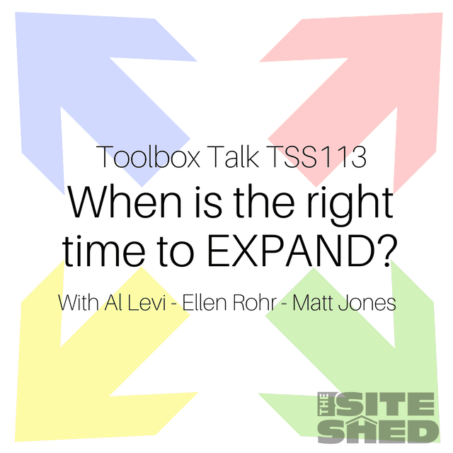 TSS113_When is the right time to expand?