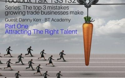 The right way of attracting talent into our businesses