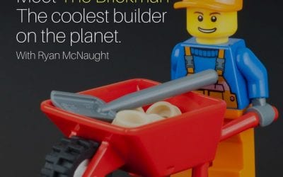 Meet the Brickman. The coolest builder on the planet.