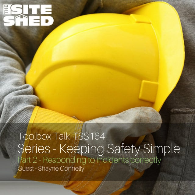 Keeping Safety Simple Series Part 2: Responding to incidents correctly