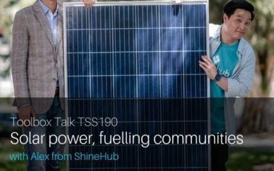 Solar power, fuelling communities