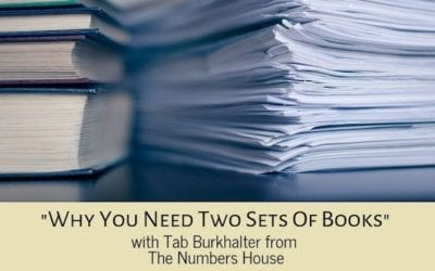 Why you need to keep two sets of books