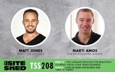 The ultimate process for removing yourself from your trade business